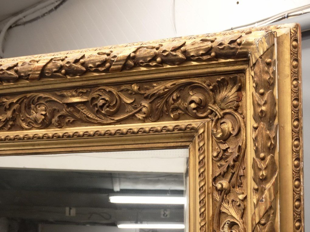Large 19th c. Mirror - 3