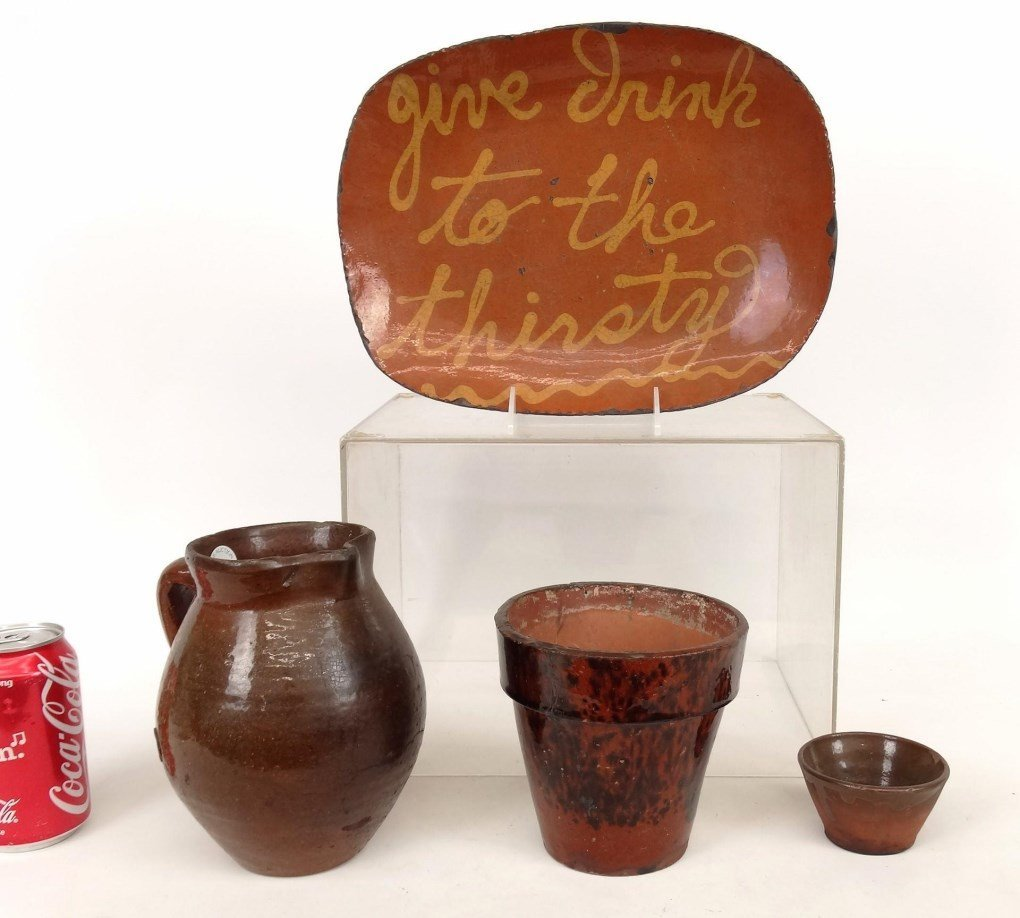 Redware Lot