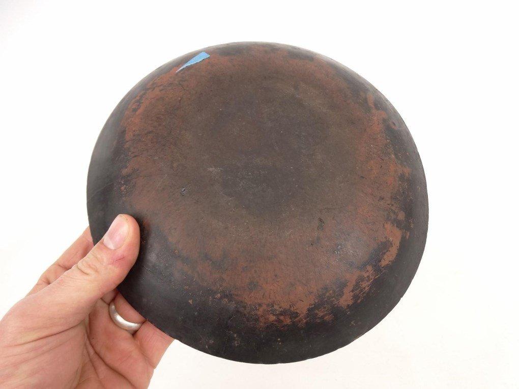 19th c. Redware Dish - 5