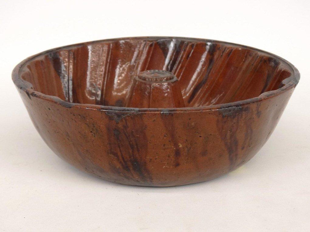 19th c. Redware Mold - 3