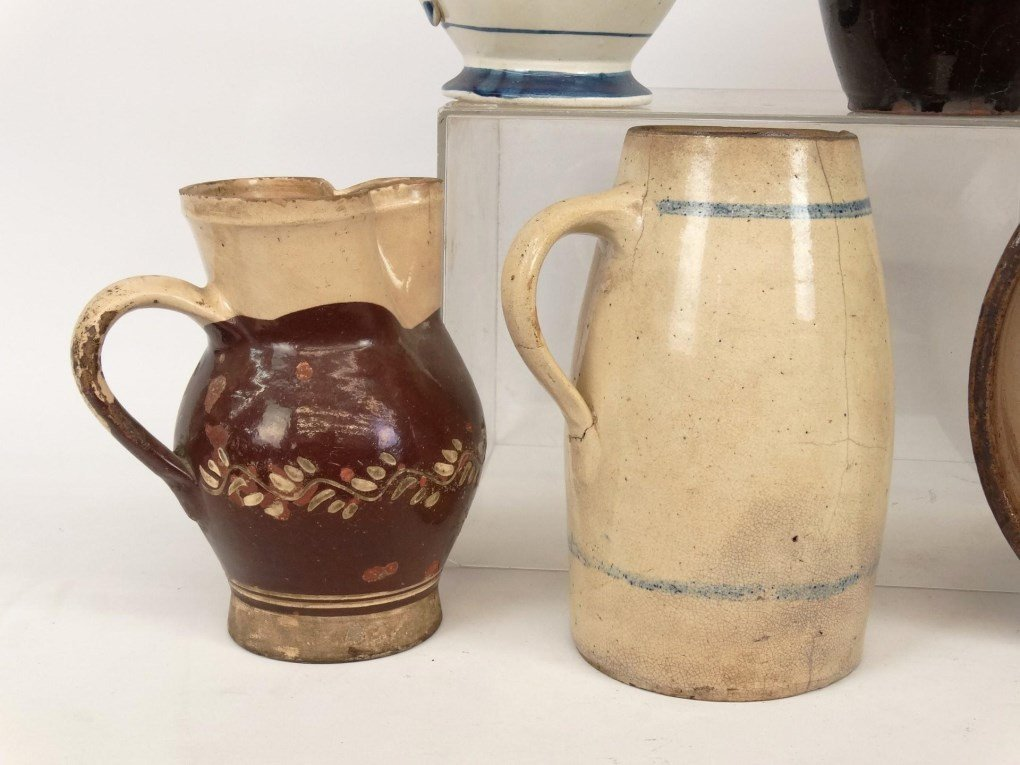 19th c. Pottery Lot - 3