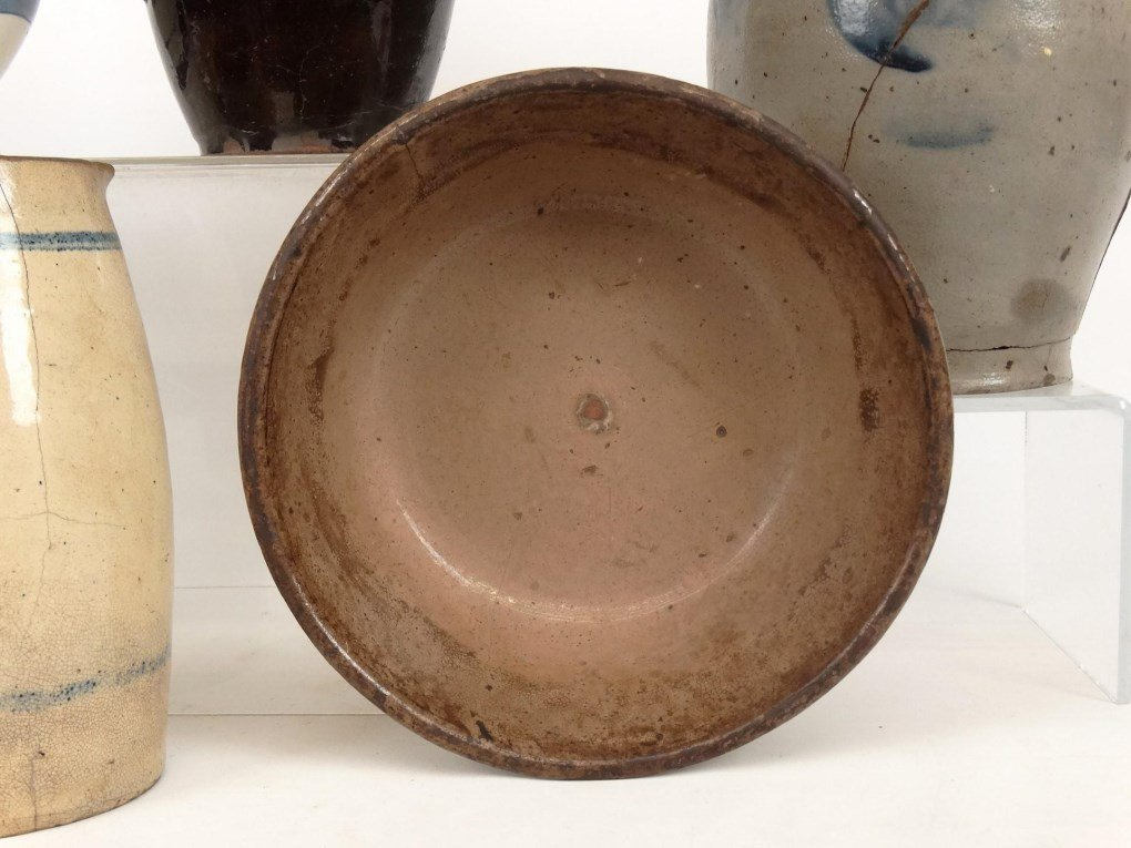 19th c. Pottery Lot - 5