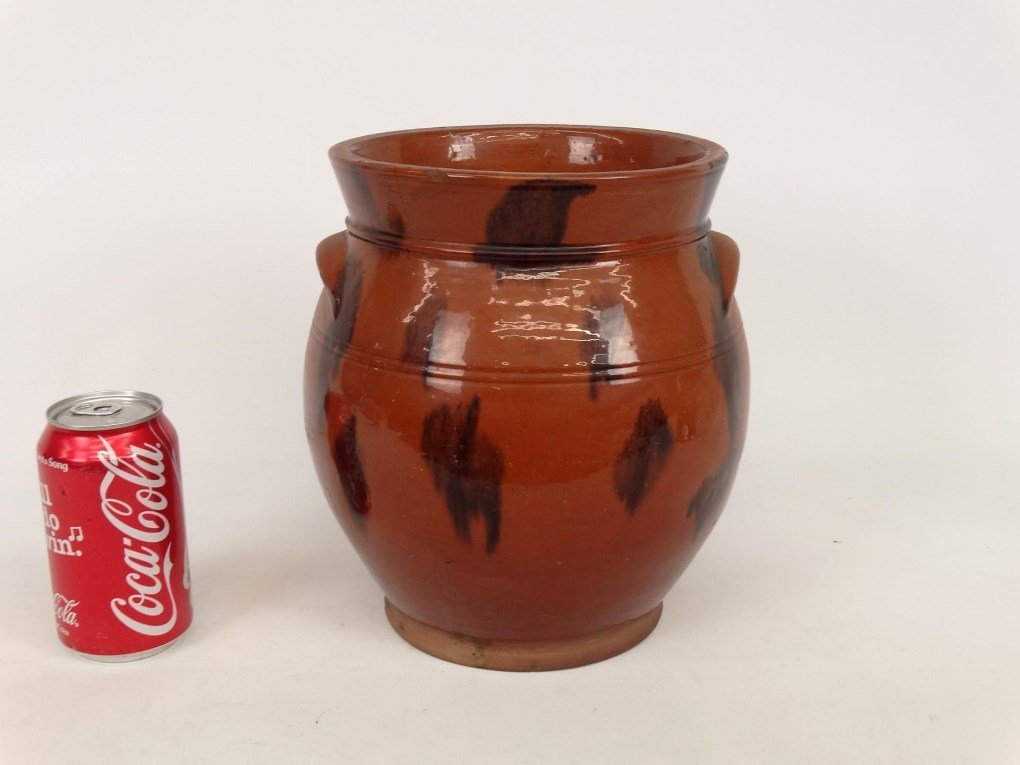 19th c. Redware Crock