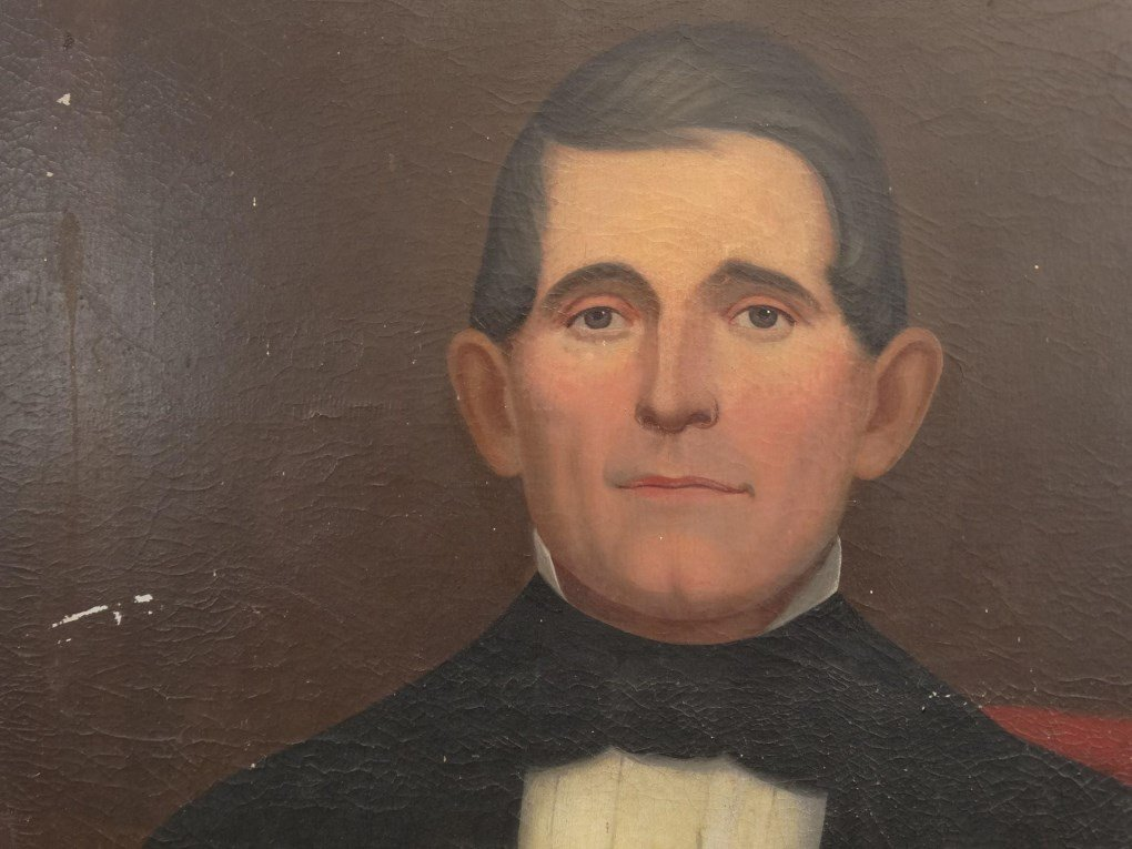 19th c. Portrait Of A Gentleman - 3