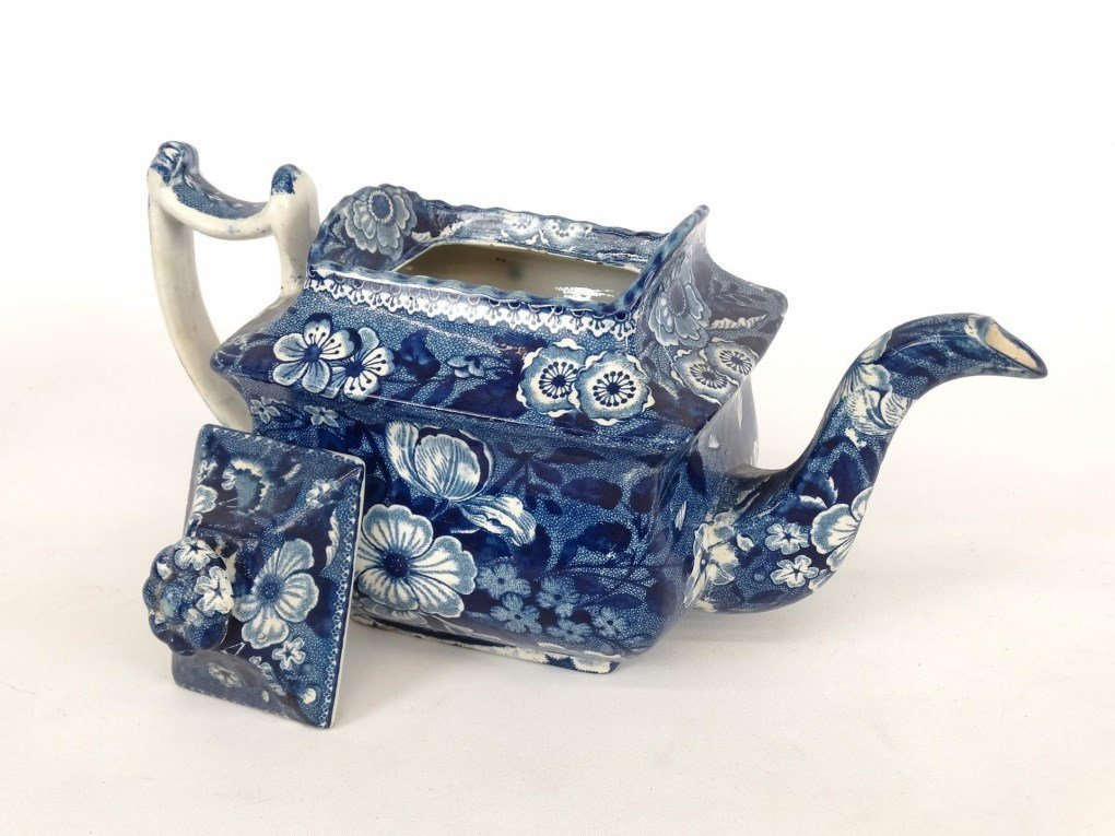 Staffordshire Blue And White Transferware - 2