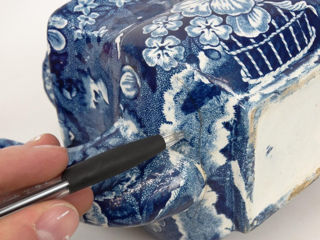 Staffordshire Blue And White Transferware - 8