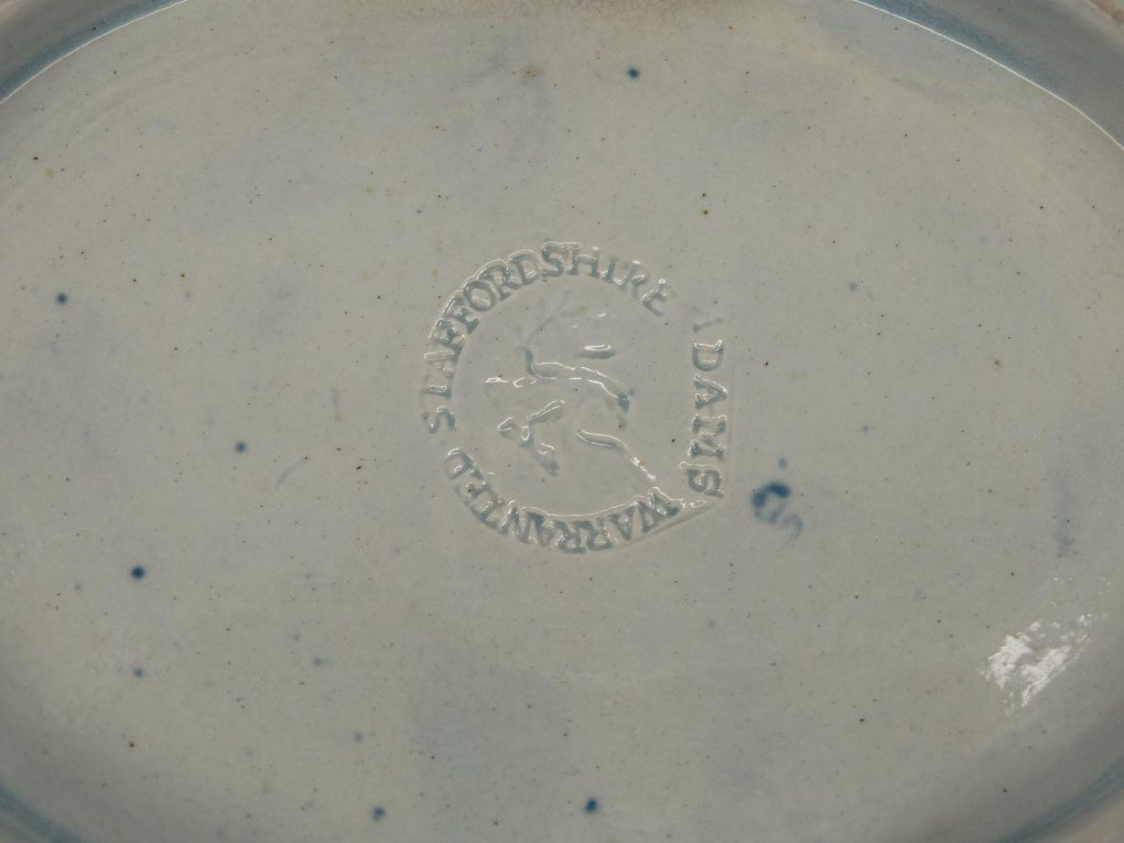 Staffordshire Blue And White Transferware - 5