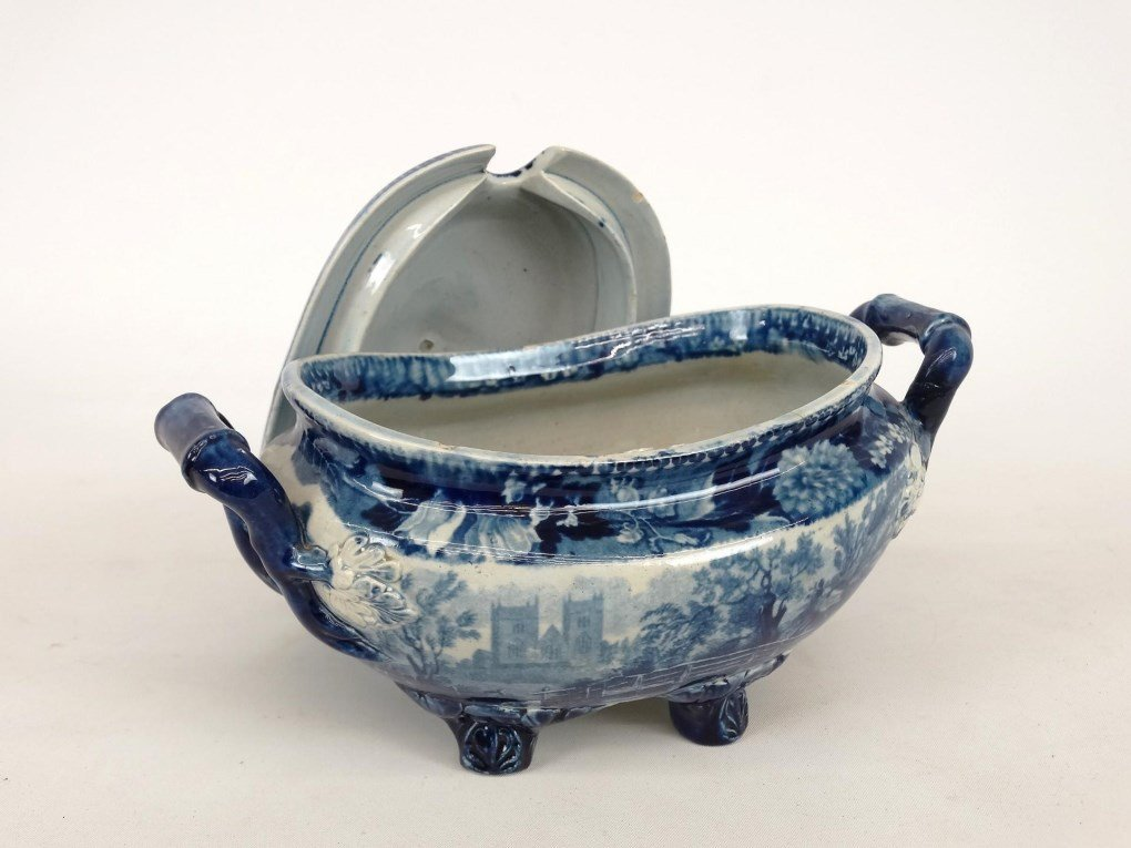 Staffordshire Blue And White Transferware - 3