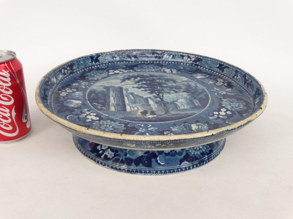 Staffordshire Blue And White Transferware