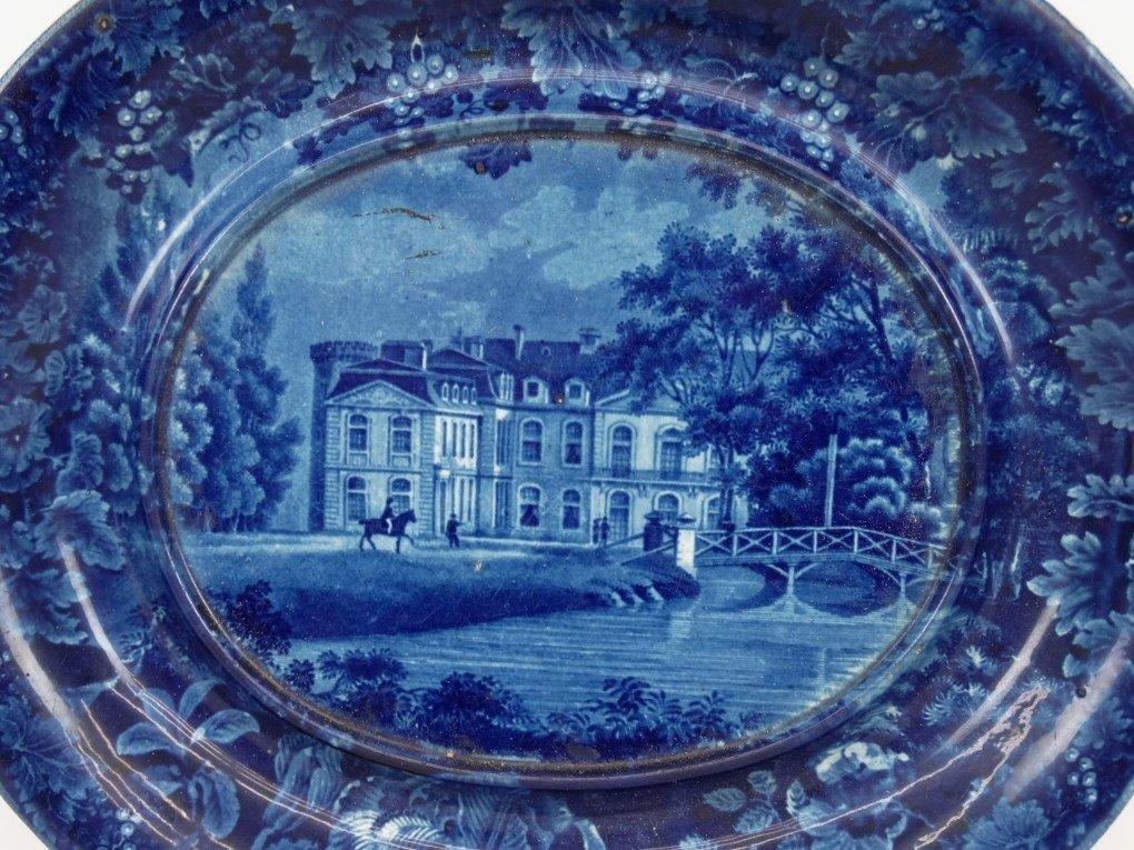 Staffordshire Blue And White Transferware - 2