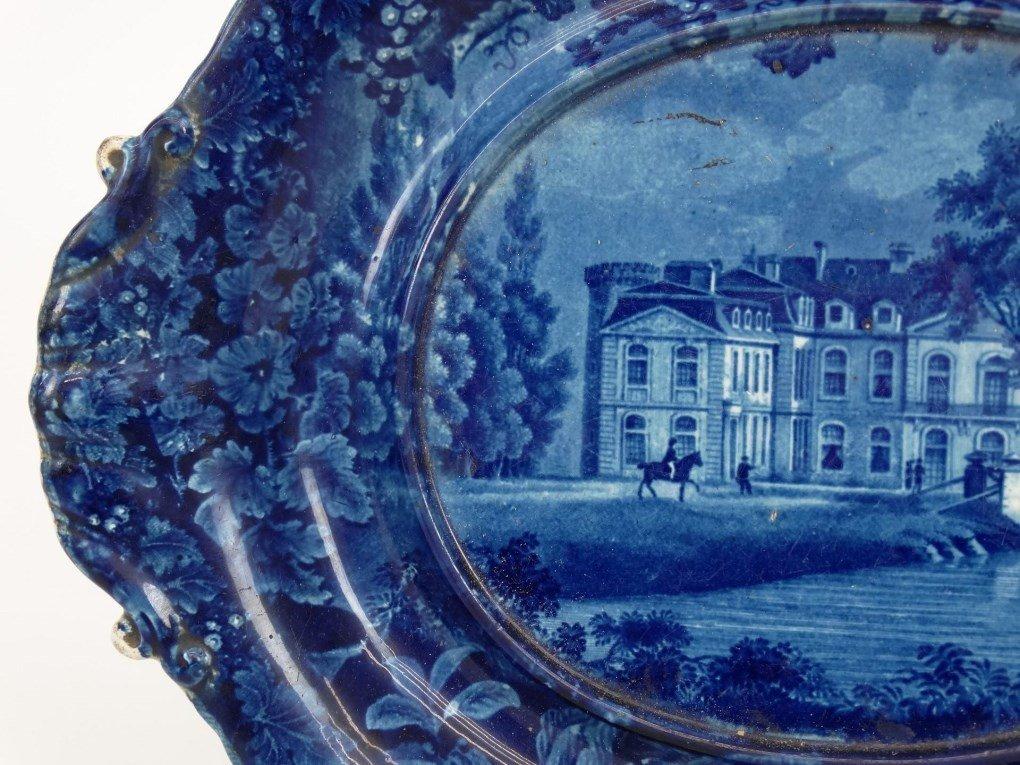 Staffordshire Blue And White Transferware - 4