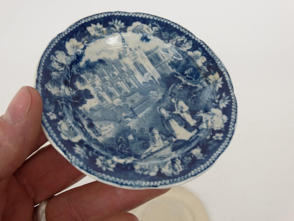 Staffordshire Blue And White Transferware - 7