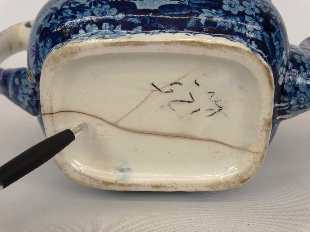 Staffordshire Blue And White Transferware - 6