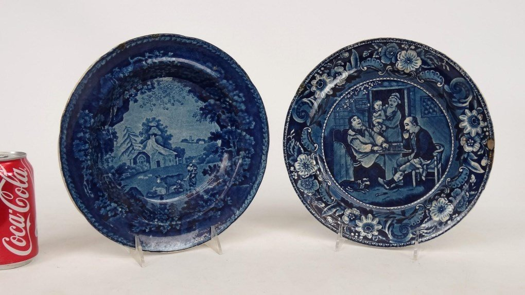Staffordshire Blue And White Transferware