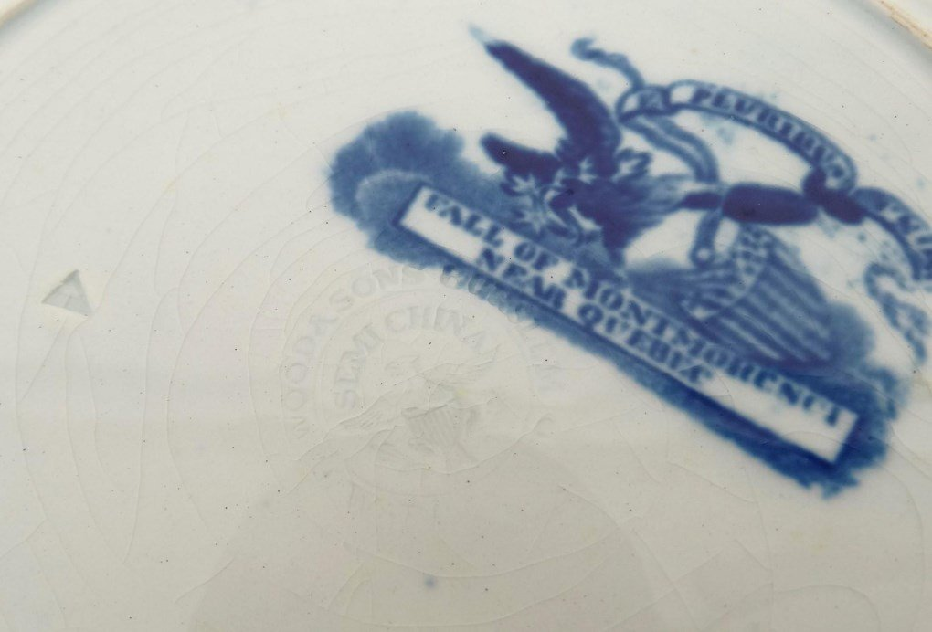 Staffordshire Blue And White Transferware - 6