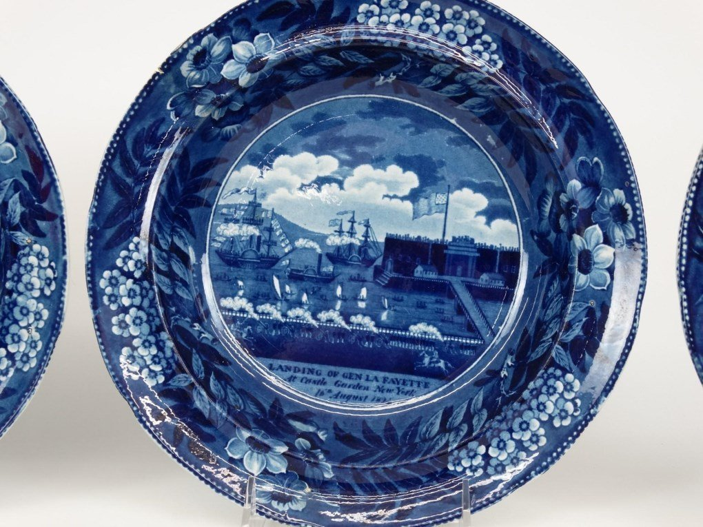 Staffordshire Blue And White Transferware - 4