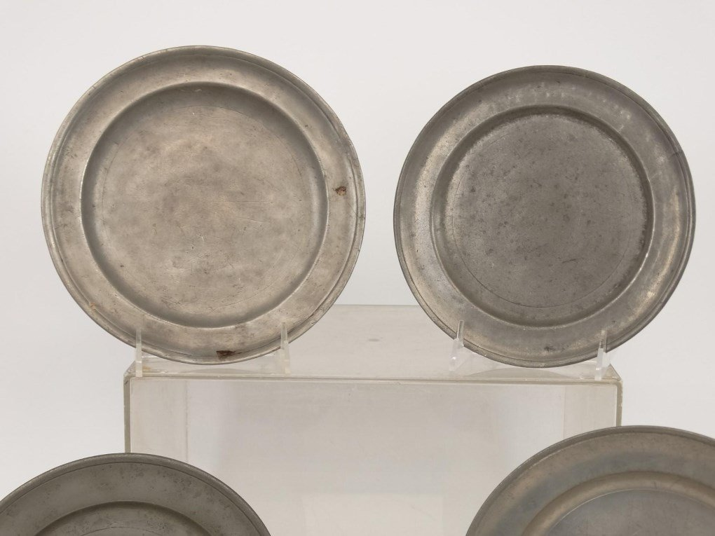 Pewter Plates - 2