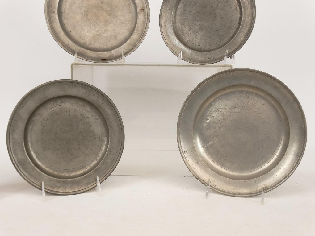 Pewter Plates - 3