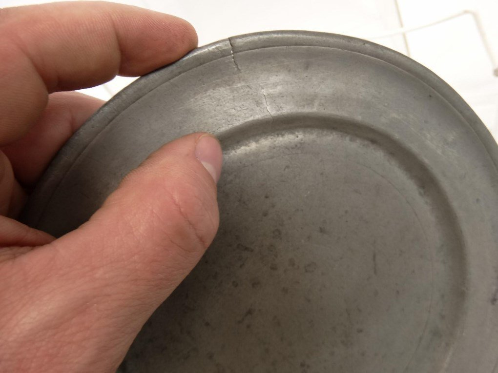 Pewter Plates - 8