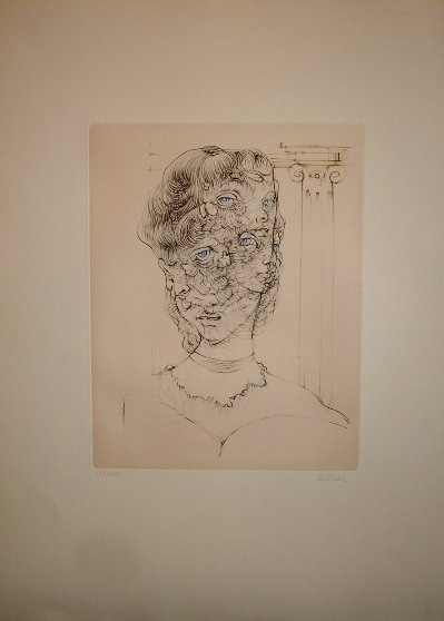 8: BELLMER HANS  #8 untitled, 1970 64.00 x 50.00 cm ori