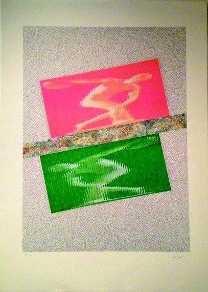 11: KOLAR JIRI  #11 (1914-2002) OLYMPIC, 1992 Lithograp