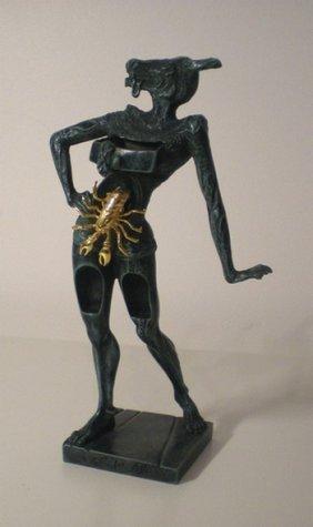 12: DALI Salvador #12 (1904-1989) untitled 18 x 7 cm, S
