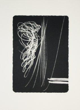 16: HARTUNG HANS  #16 fara 2 1971 original lithograph i