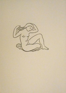 5: MAILLOL Aristide Woodcut in black