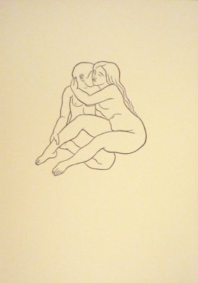 7: MAILLOL Aristide Woodcut in black
