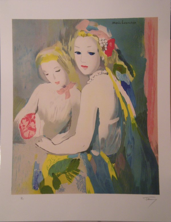 20: LAURENCIN Marie lithograph in colors