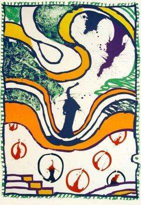 ALECHINSKY Pierre Zwischen Den Zeilen, 1993Lithogra