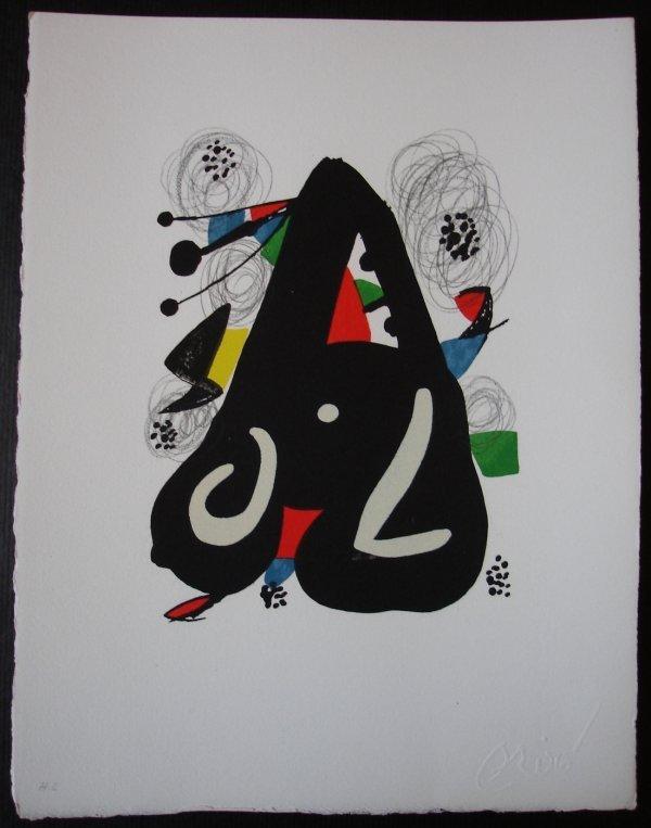 80: MIRO Joan La melodie Acide n° 1120 circa 1980