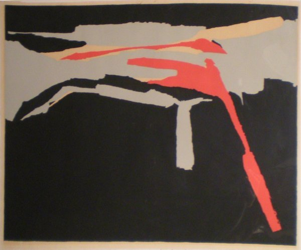 96: LINSTRÖM Bengt(1925-2008)Nuit d'automneLithograph i