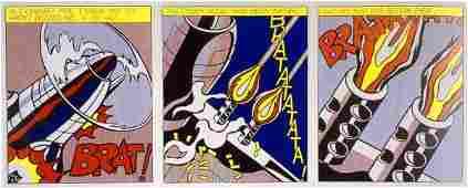 160: LICHTENSTEIN Roy lithograph