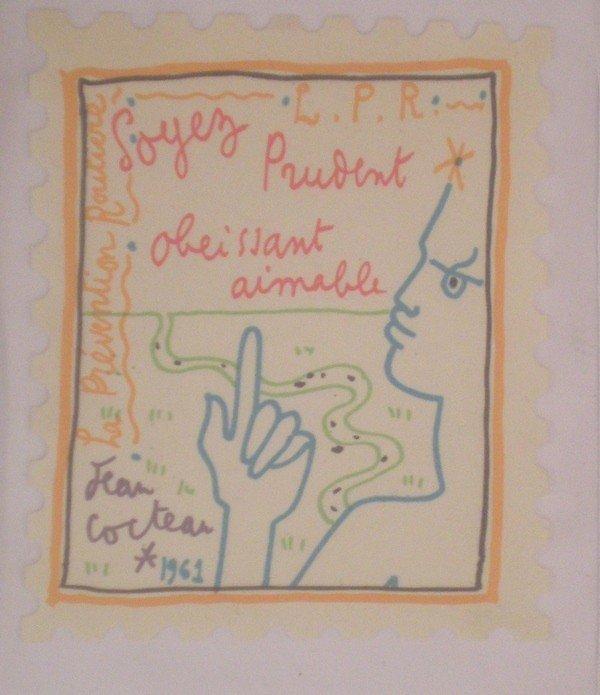 4: Portfolio of 2 artworks  : Profil / Soyez prudent, o