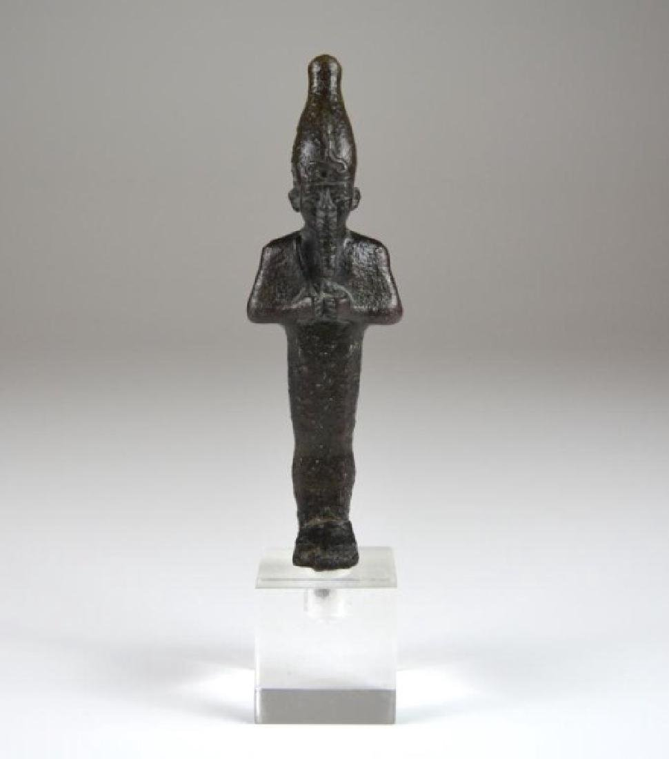 ANCIENT EGYPTIAN BRONZE OSIRIS FIGURE