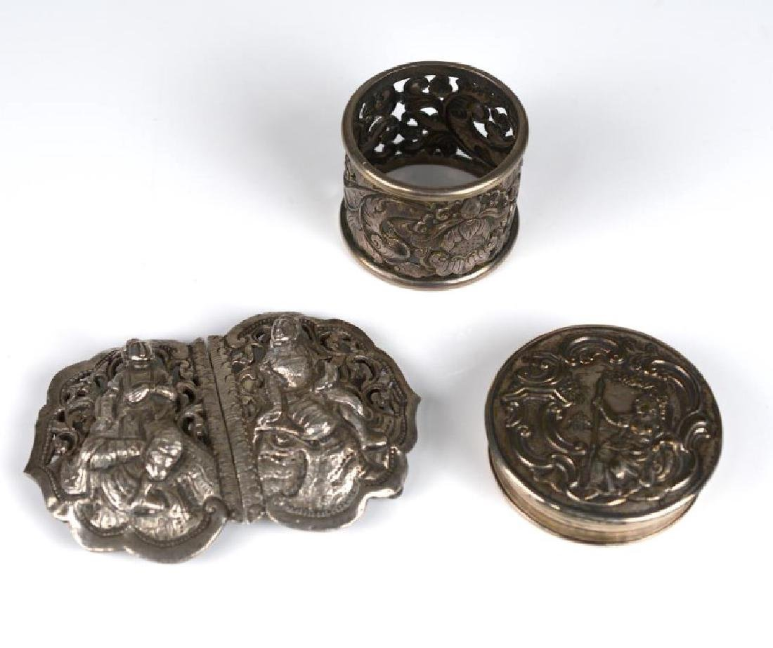 THREE SILVER PIECES