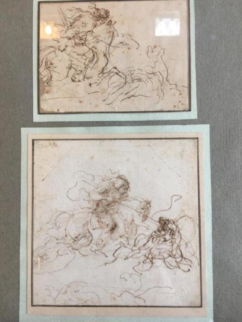 17TH CENTURY ITALIAN SKETCHES - 3