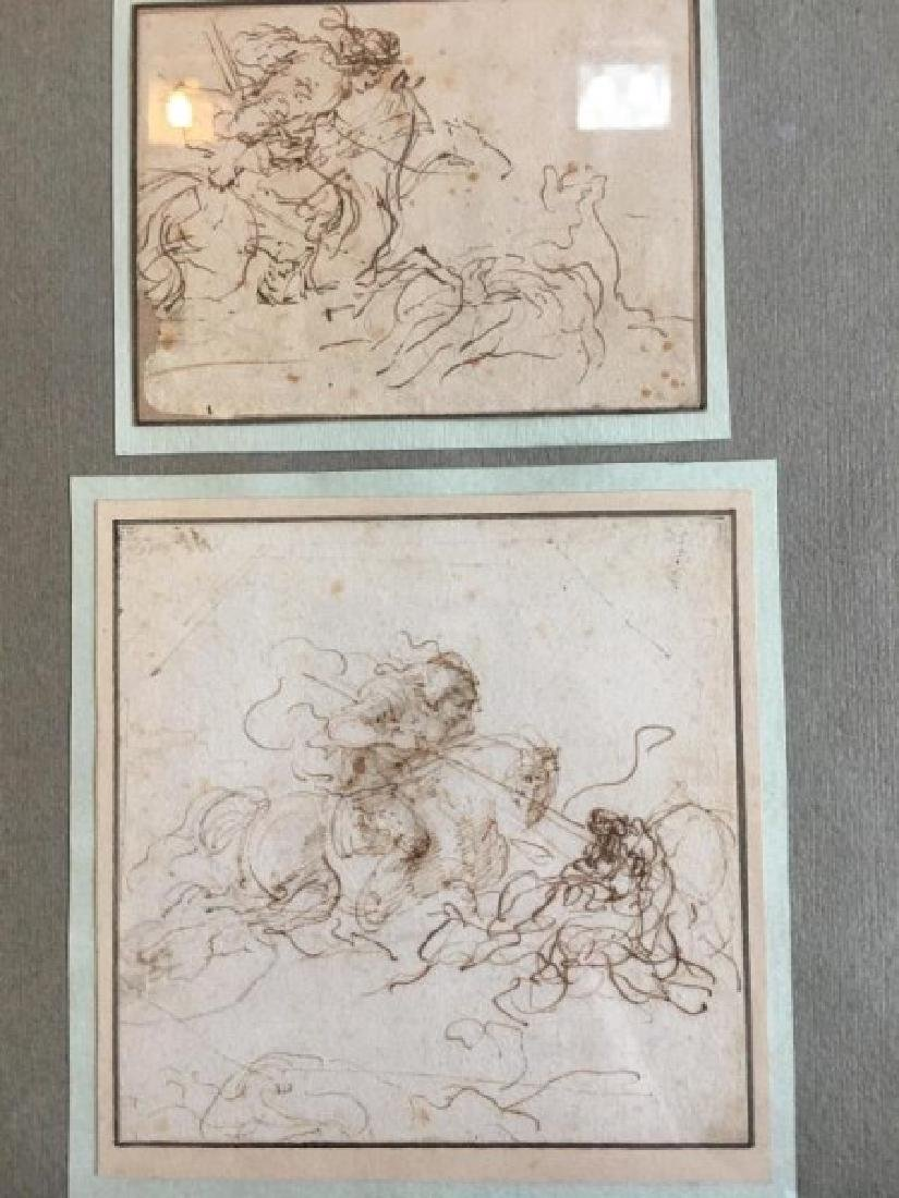 17TH CENTURY ITALIAN SKETCHES - 4