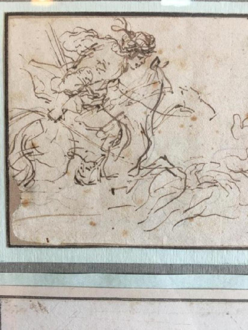 17TH CENTURY ITALIAN SKETCHES - 6