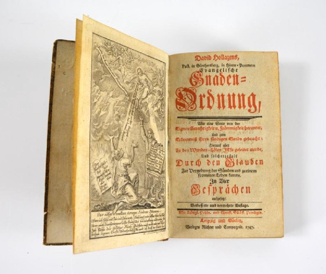 TWO 18TH CENTURY GERMAN DEVOTIONALS - 4