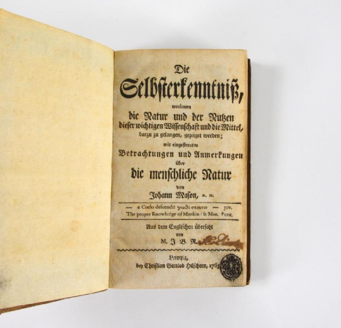 TWO 18TH CENTURY GERMAN DEVOTIONALS - 5