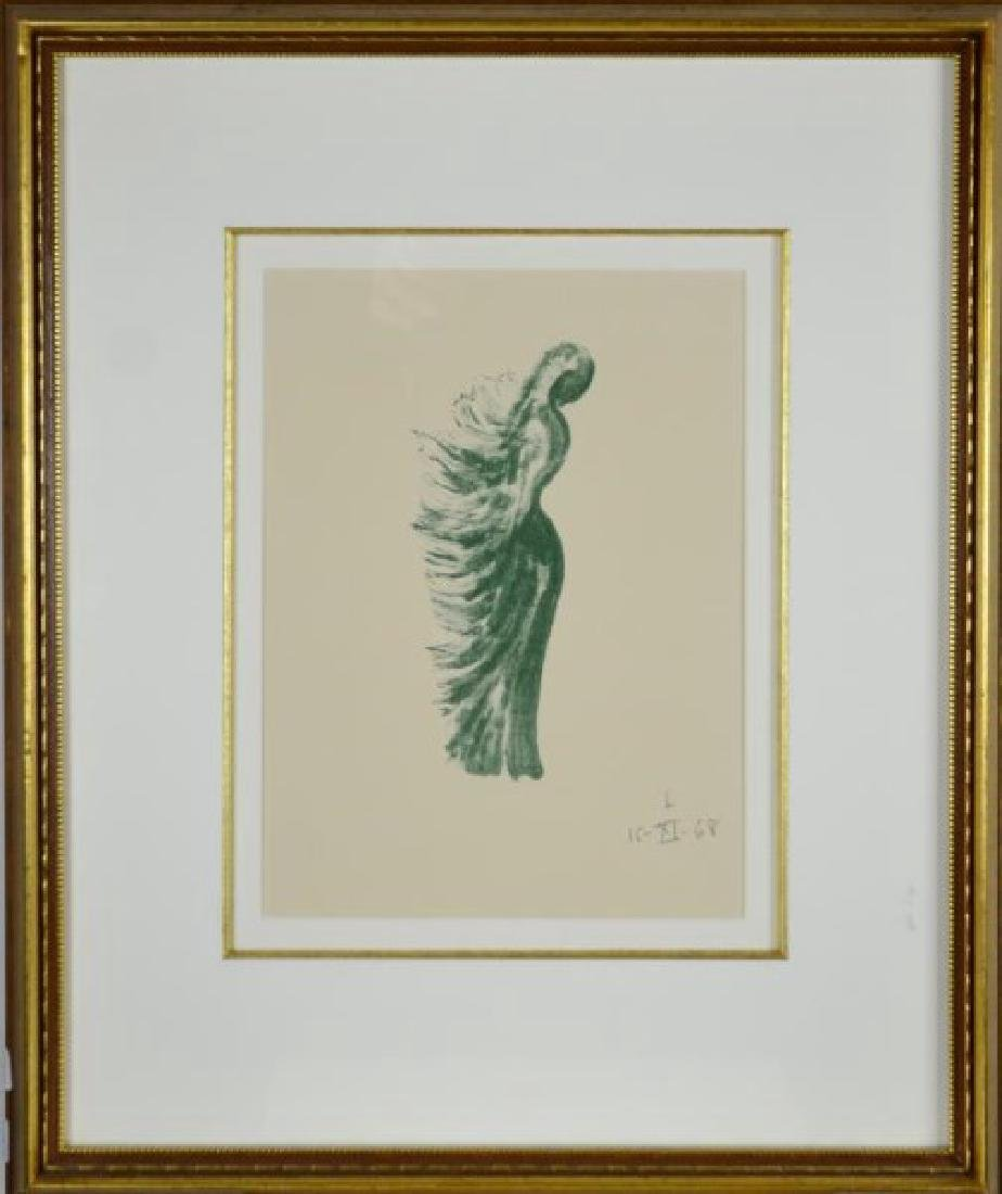 TWO WORKS ON PAPER BY VARIOUS ARTISTS - 2
