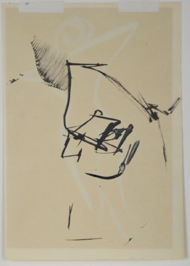 TWO WORKS ON PAPER BY VARIOUS ARTISTS - 6