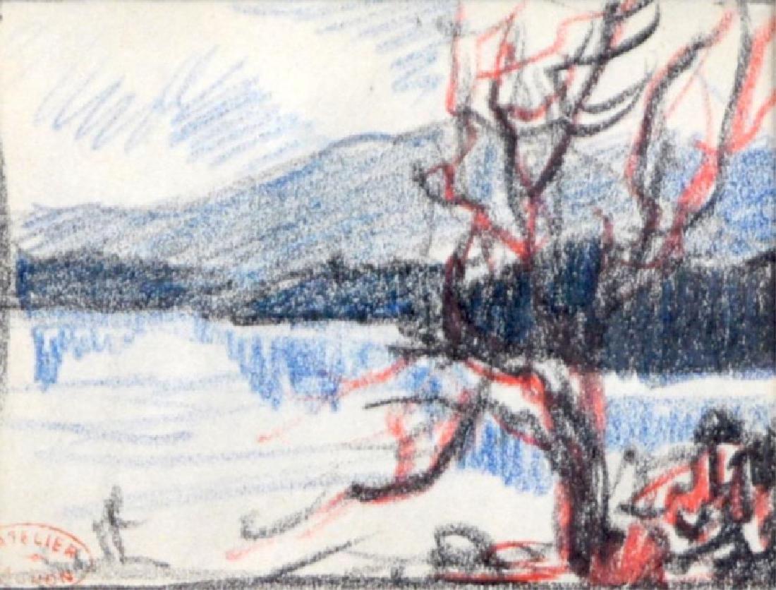 CLARENCE-ALPHONSE GAGNON (Canadian, 1881-1942)