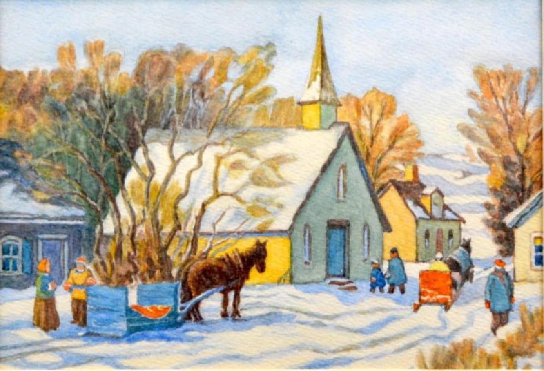 20TH CENTURY CANADIAN SCHOOL