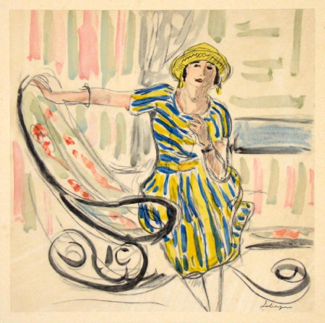 QUELQUES AQUARELLES DE LEBASQUE (Folio)