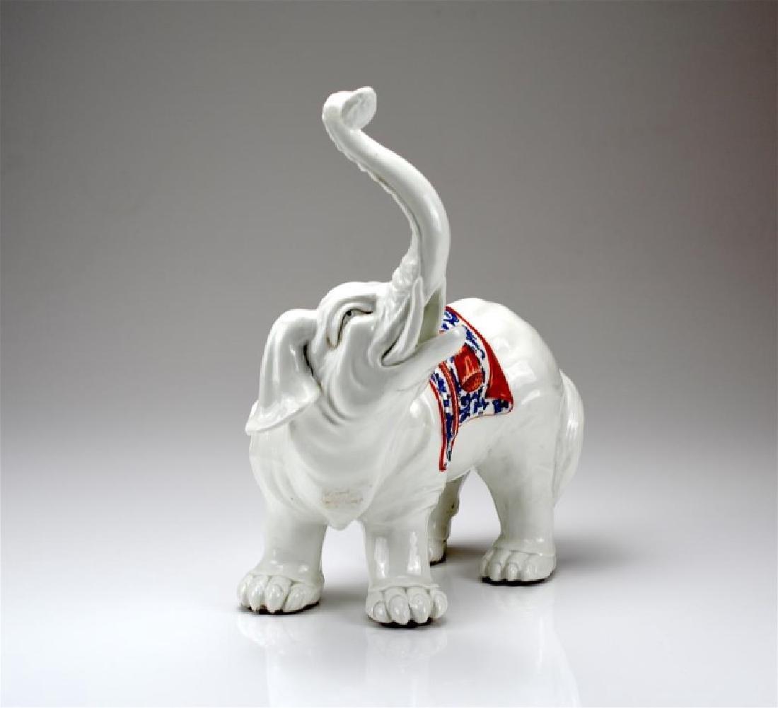 SAMSON PORCELAIN ELEPHANT FIGURE