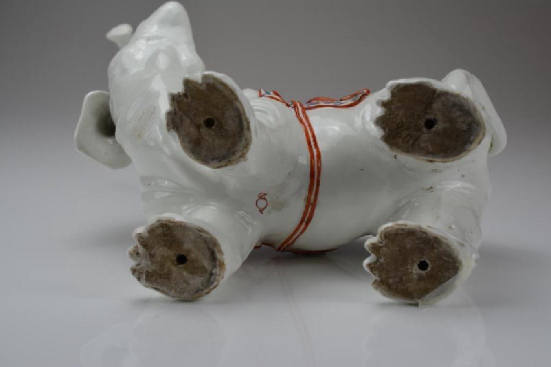 SAMSON PORCELAIN ELEPHANT FIGURE - 3