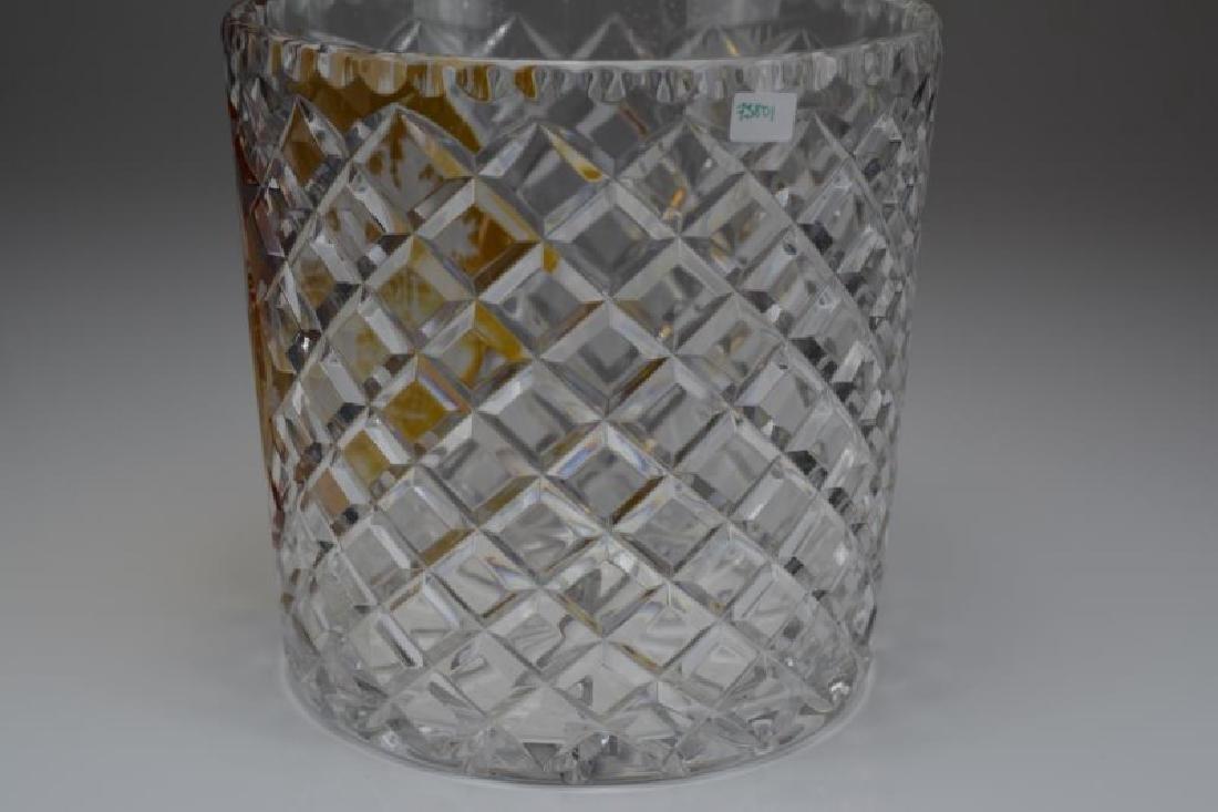 BOHEMIAN GLASS WINE COOLER - 3